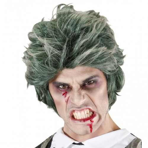 Perruque homme zombie