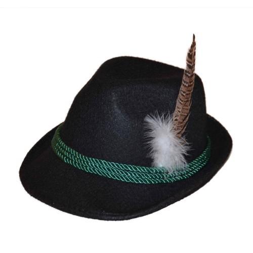 Chapeau Bavarois Noir