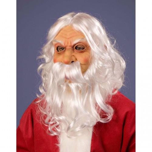 Masque père Noël latex