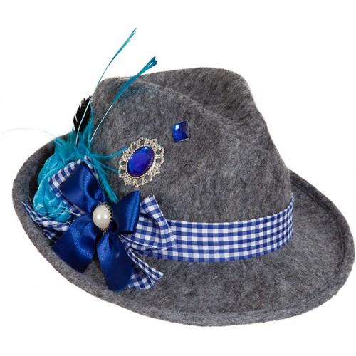 Chapeau Bavarois Gris pour femme