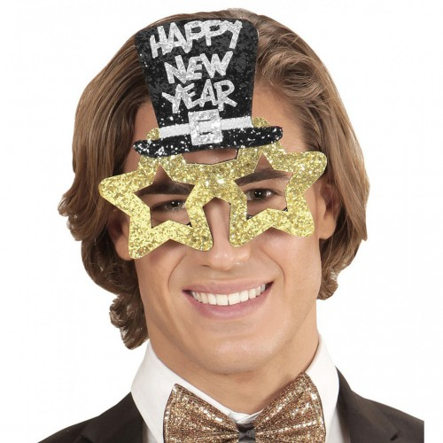 Lunettes Happy New Year Or