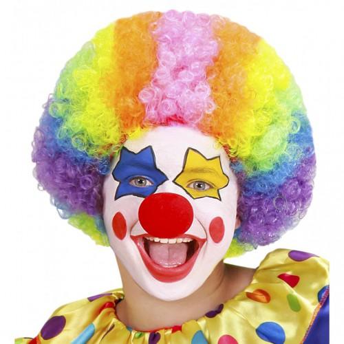 Perruque clown enfant