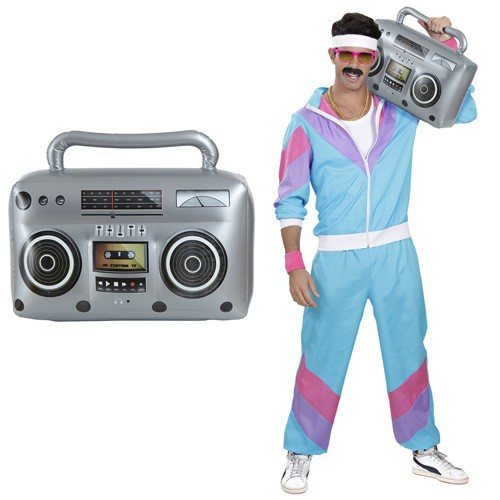 Radio gonflable 80's