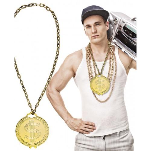 Collier Hip hop géant