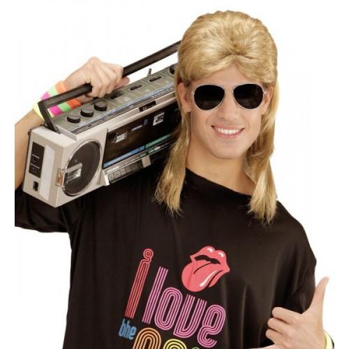 Mulet blond 80's + lunettes