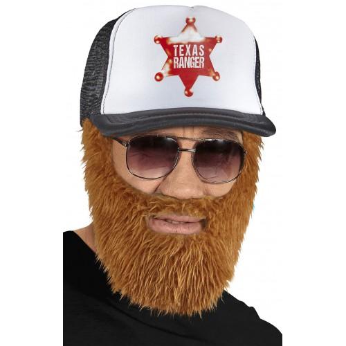 Barbe et casquette Texas ranger