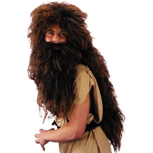 Etat sauvage Perruque et barbe