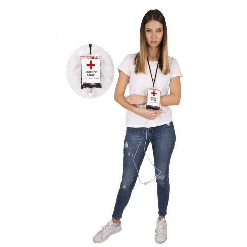 Fausse poche de transfusion sanguine