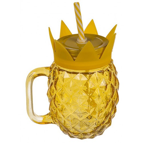 Verre ananas refermable