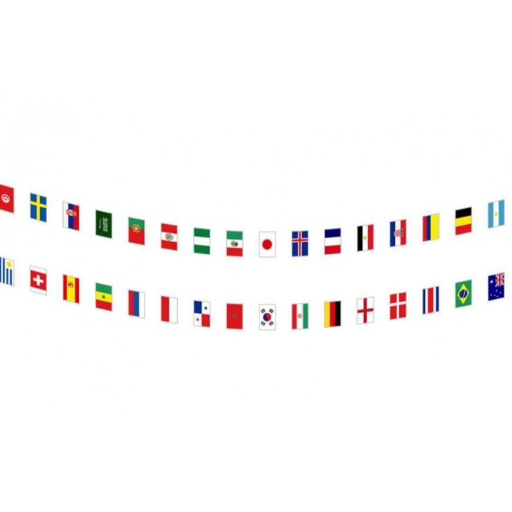 Guirlande coupe du monde 32 pays