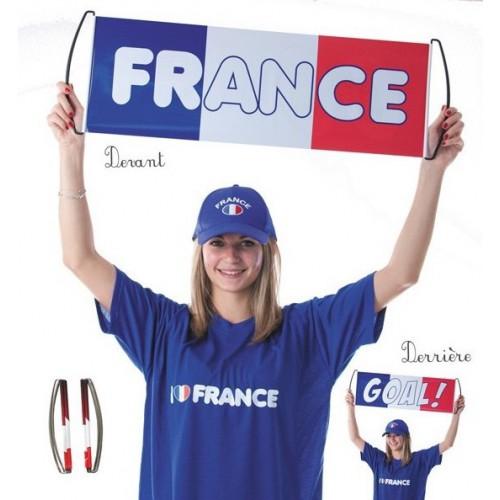 Bannière de supporter Français