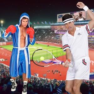 🔥J-3🔥  Plus que 3 petits jours avant la cérémonie d'ouverture 😍 Alors, quel sport vous attendez le plus? 🥊🏐🏸  PS : un ancien champion olympique se cache sur cette photo, vous l'avez vu? 🧐